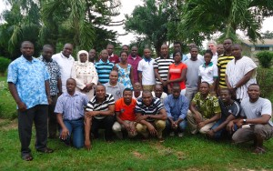 Participants in the workshop in Sunyani, Ghana